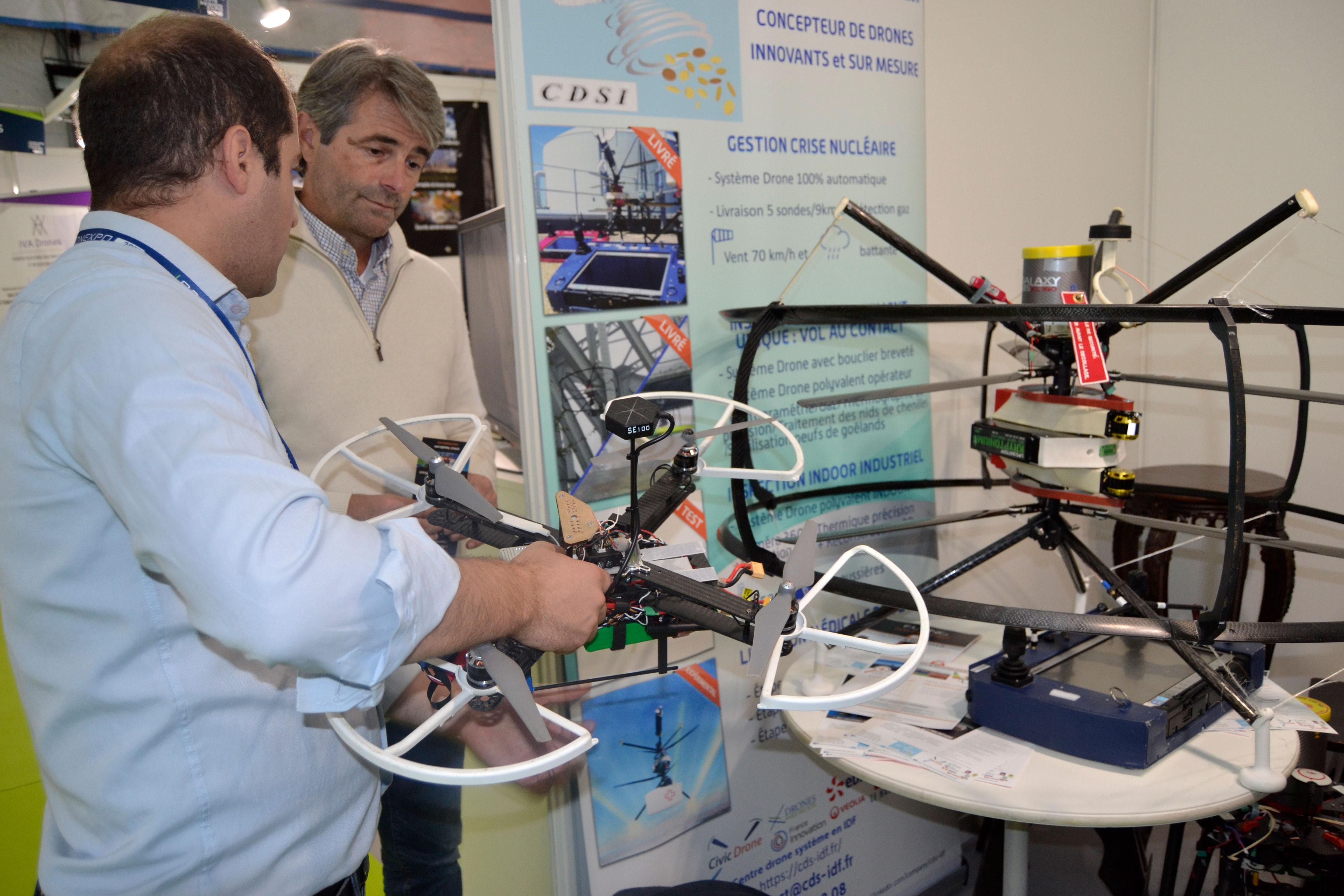 Equipe CDSI   Centre Drone Systeme Idf - constructeur